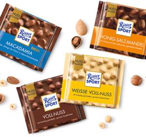 Бесплатные шоколадки RITTER-SPORT