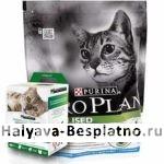 Бесплатный корм для кошек PRO PLAN STERILISED