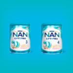 Бесплатный тест-драйв молочка NAN OPTIPRO 3 и NAN OPTIPRO 4