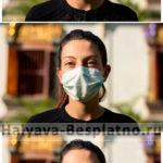 Бесплатная медицинская маска для лица